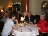 Uczestnicy podczas kolacji