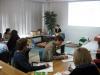 Prowadząca: Anna Komorowska podczas szkolenia Projektowanie placów zabaw