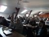 Uczestnicy podczas szkolenia Problemy w eksploatacji przepompowni ścieków