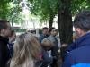 Ćwiczenia terenowe podczas szkolenia Metoda Wizualnej Identyfikacji Drzew Zagrażających Bezpieczeństwu