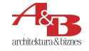 A&B logotyp male litery