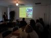 wykładowca: Michał Mydłowski podczas prowadzenia szkolenia Ochrona gatunkowa w procesie usuwania drzew i krzewów