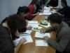 Uczestnicy podczas ćwiczeń - szkolenie Projektowanie placów zabaw i przestrzeni edukacyjnej dla dzieci