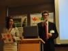 Uroczyste otwarcie konferencji - zastępca burmistrza dzielnicy Praga Południe- Adam Grzegrzółka