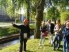 Pomiar statyki drzewa metodą Elaso-Inklino prowadzony przez prof. Marka Siewniaka